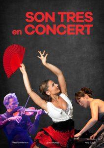 Cartell SonTres en Concert